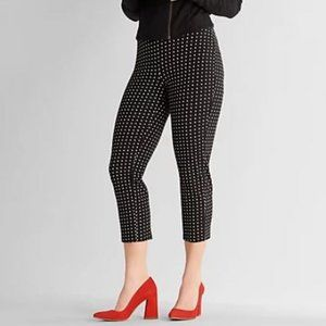 Women with Control Petite Pull-On Print Crop Pants